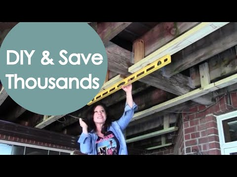 DIY Under Deck Roof and Drainage (Part 1) – Renee Romeo
