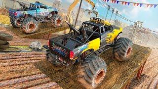 Monster Truck Crash Stunts Driving Simulator - Android Gameplay