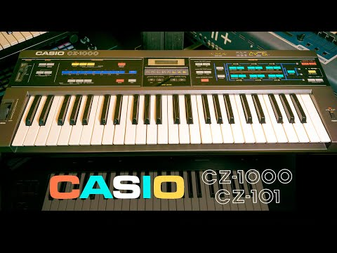 Casio CZ-1000 | The Cosmo Synthesizer. Everyone had one of these!
