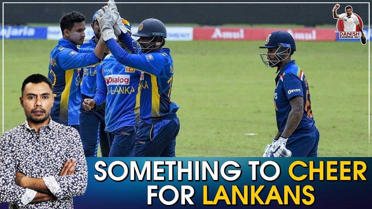 Something to cheer for lankans   Danish Kaneria