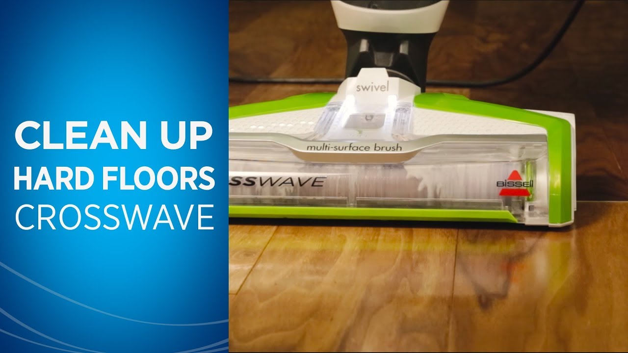 Cleaning Hard Floors With Your Crosswave
