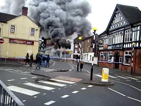 Newcastle-under-lyme Burns