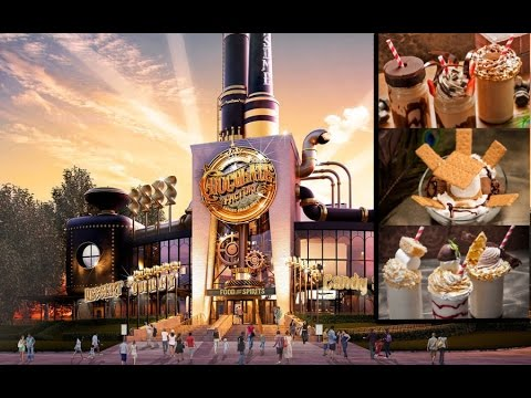 Universal Orlando Toothsome Chocolate Factory & Savory Feast Emporium