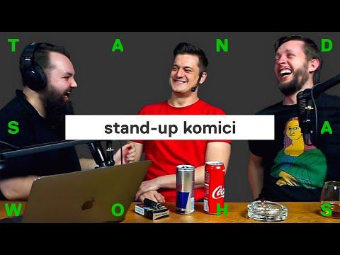 Vtipy na Karla Gotta? Češi milují černý humor, říkají stand-up komici