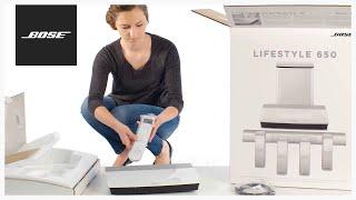 Bose Lifestyle 650 – Unboxing + Setup