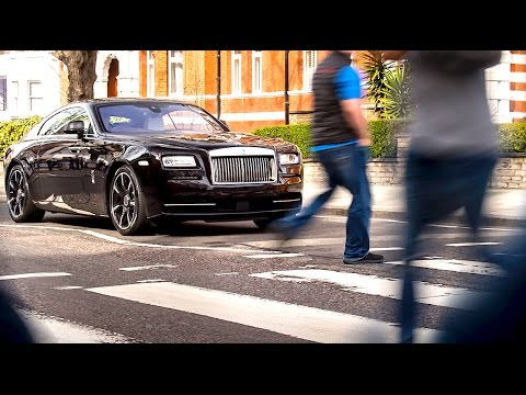 Rolls-Royce The Beatles Sir George Martin Bespoke Rolls Royce Wraith 2017 Interior Video CARJAM TV