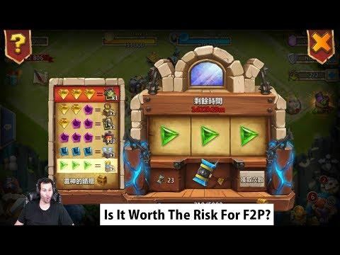 New SLOTS Gambling Castle Clash Event CRAZY Skeletica Reward