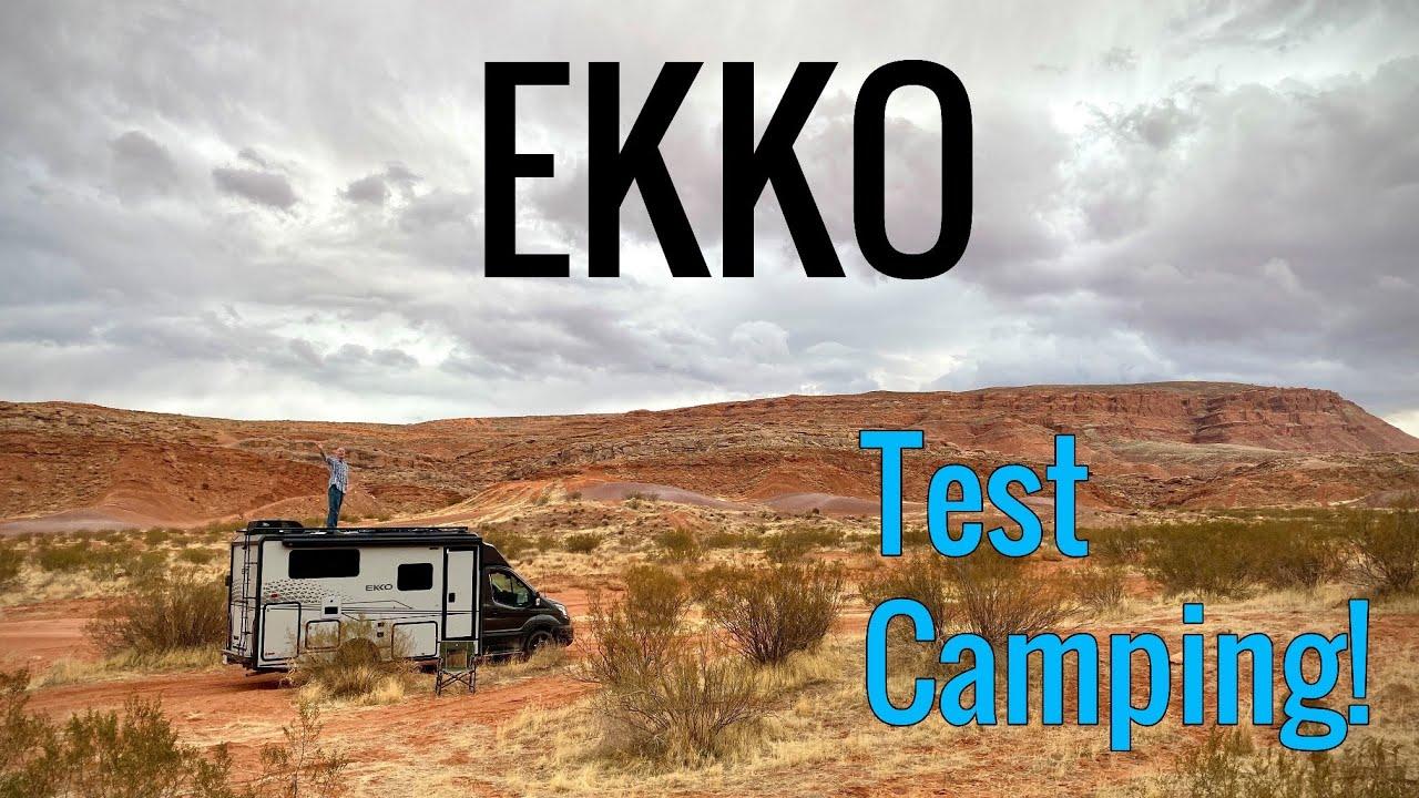 L'essai du Winnebago Ekko Classe B