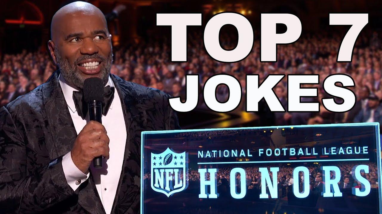 Download Steve Harvey's Best Jokes from the NFL Honors