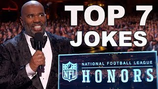 Steve Harvey's Best Jokes from the NFL Honors