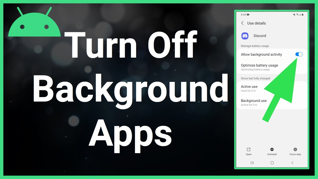 How To Turn Off Background Apps On Android (2021)