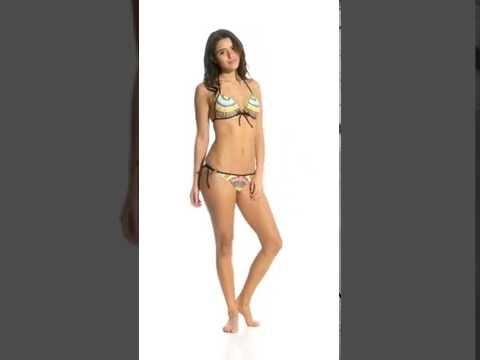 Body Glove Swimwear Culture Brasilia Tie Side Bikini Bottom | SwimOutlet.com