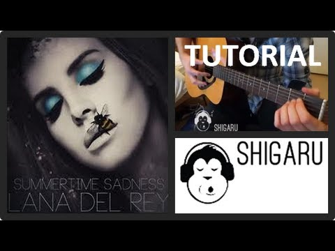 How to Play 'Summertime Sadness' by Lana Del Rey (with & without a capo) - Beginners Tutorial
