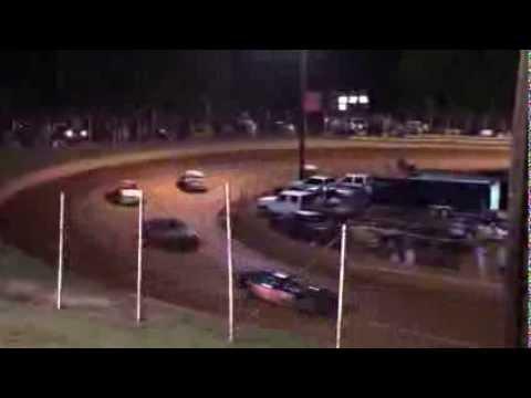 Winder Barrow Speedway Stock 4 Cylinder Feature Race 8/16/14