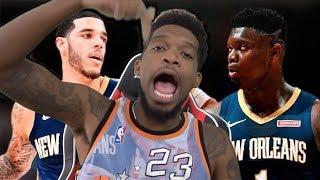 MAKE SURE LONZO HEARS THIS! New Orleans Pelicans vs Atlanta Hawks - Full Game Highlights