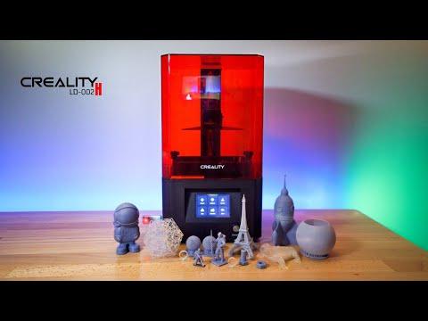 Creality LD-002H - Resin 3D Printer - Unbox & Setup