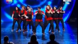 Yetenek Sizsiniz Türkiye Final Tokio Tekkan Dans Performansı