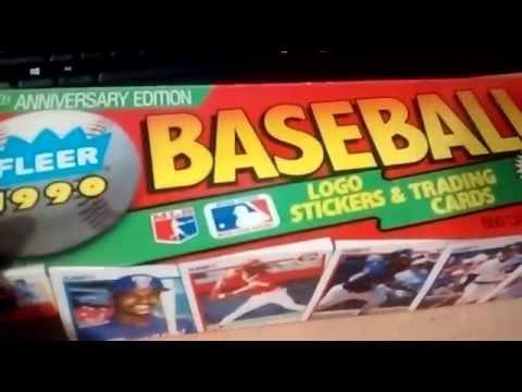 1990 Fleer Baseball Cards Complete Set