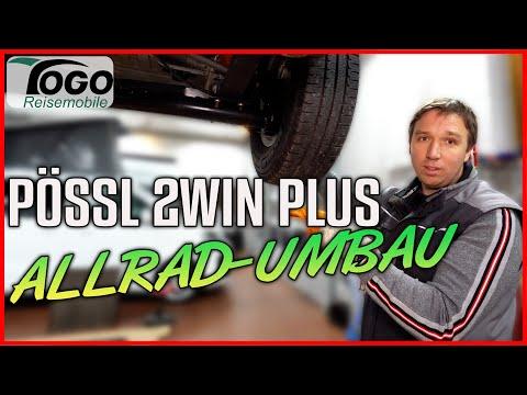 🔧 ALLRAD-UMBAU für PÖSSL 2WIN PLUS 2020 | TOGO REISEMOBILE | 4x4 Dangel | Offroad Camper Conversion
