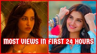 Top 50 Most Viewed Indian/Bollywood Songs in First 24 Hours | Hindi, Punjabi Songs