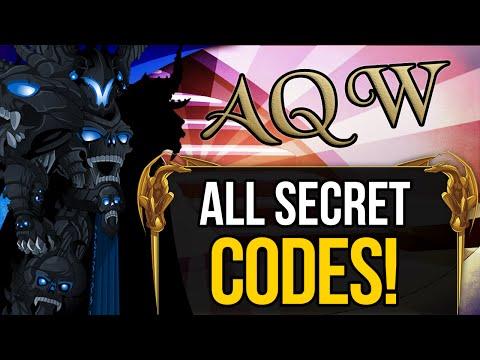 =AQW= ALL Secret Codes 2016 & 2017