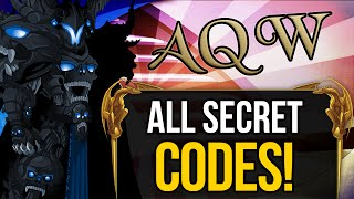 =AQW= ALL Secret Codes 2015 & 2016