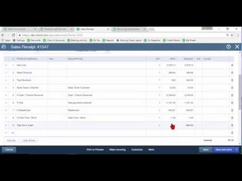 Daily Sales Summary in QuickBooks Online