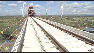 Kenyan President Visits Nairobi-Naivasha Railway Extension