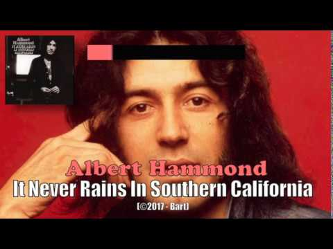 Albert Hammond - It Never Rains In Southern California (Karaoke)