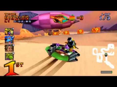 Crash Team Racing - Purple Gem Cup Con Nitrous Oxide