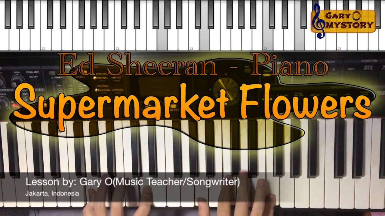 ed-sheeran-supermarket-flowers-divide-easy-piano-chords-tutorial-sheet-music-new-song-cover-2017-gary-o-mystory