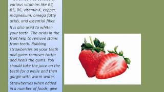 Eat Strawberries to Stay Fit - Benefits of Eating Strawberries Thumbnail