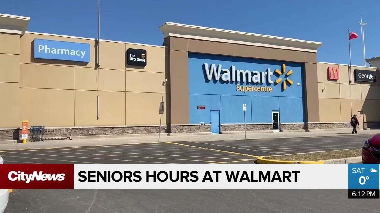 Walmart offering senior only shopping hours amid COVID-19