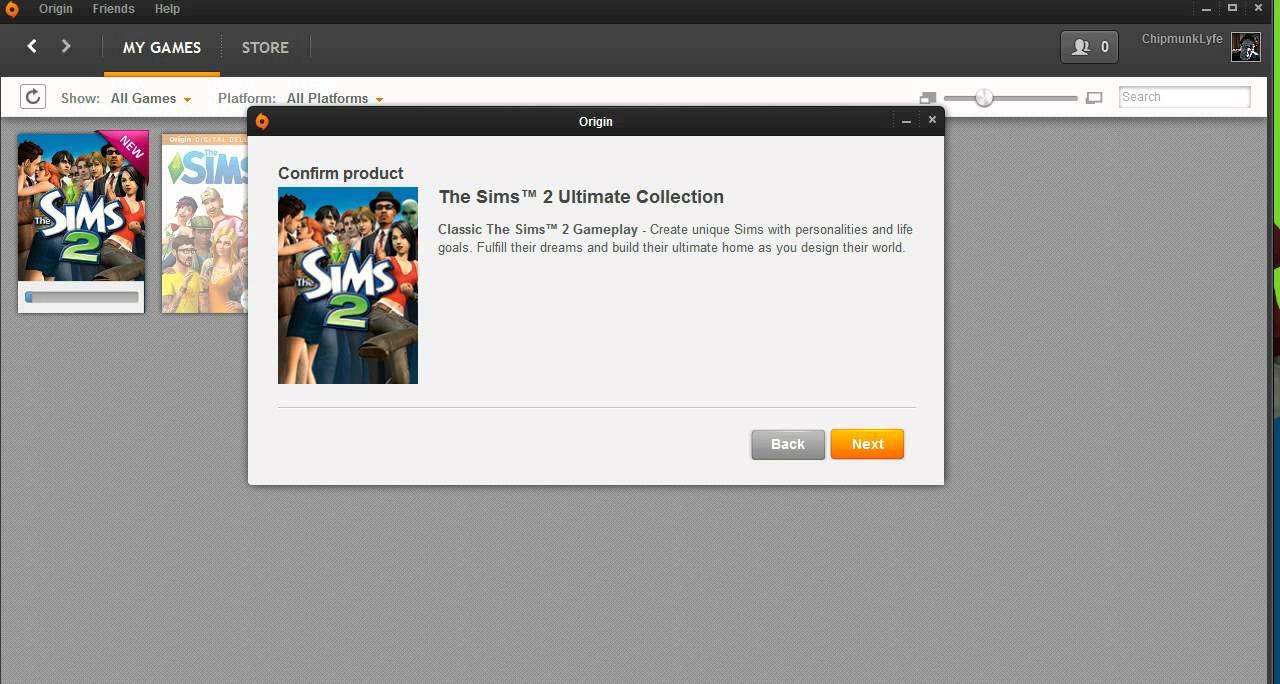 sims 2 free download full version origin