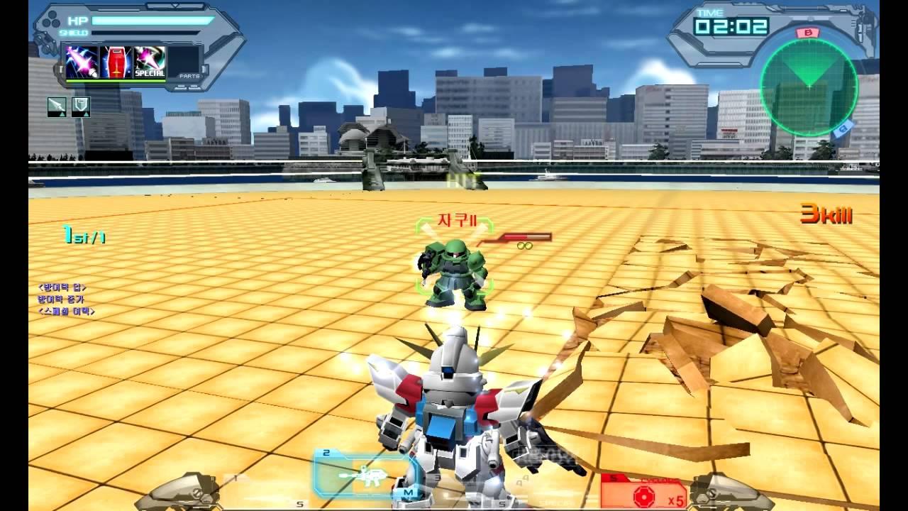 Sd Gundam Online Build Strike Gundam Youtube