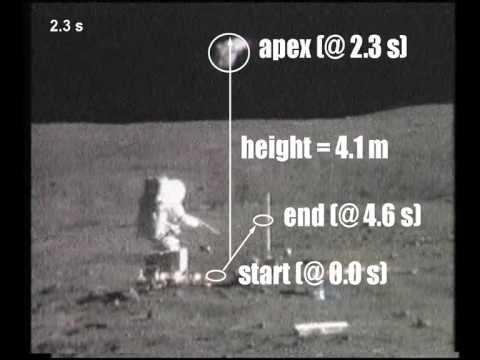 Irrefutable Proof for Moon Landing - Lunar Gravity
