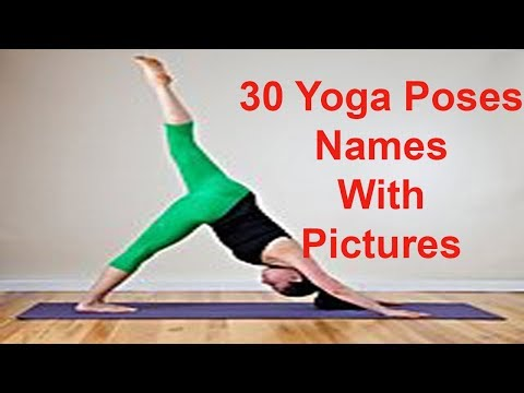 30 Yoga Poses Names With Pictures