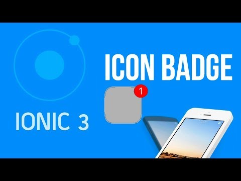 Ionic 3 Tutorial #28 App Badge - YouTube