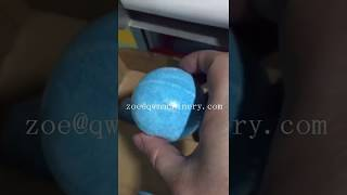 Automatic big size bath bomb sphere shape soap wrapper soap packer face soap body soap wrapping