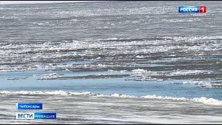 В Чебоксарах начался ледоход