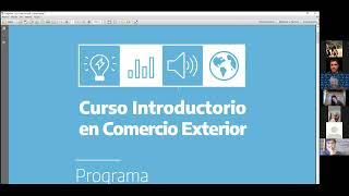 ERN2021: Charla Potenciadora CREAR - Comercio Exterior