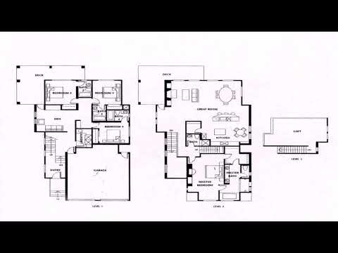 House Plans 1 Story 4 Bedroom