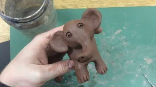 Kids Art Project - Clay Elephant