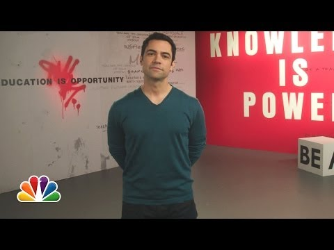 Danny Pino: The More You Know PSA on Education