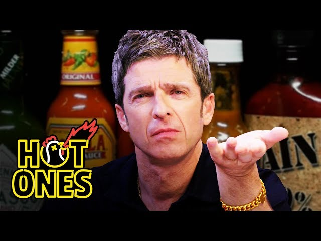 Noel Gallagher Looks Back in Anger at Spicy Wings   Hot Ones