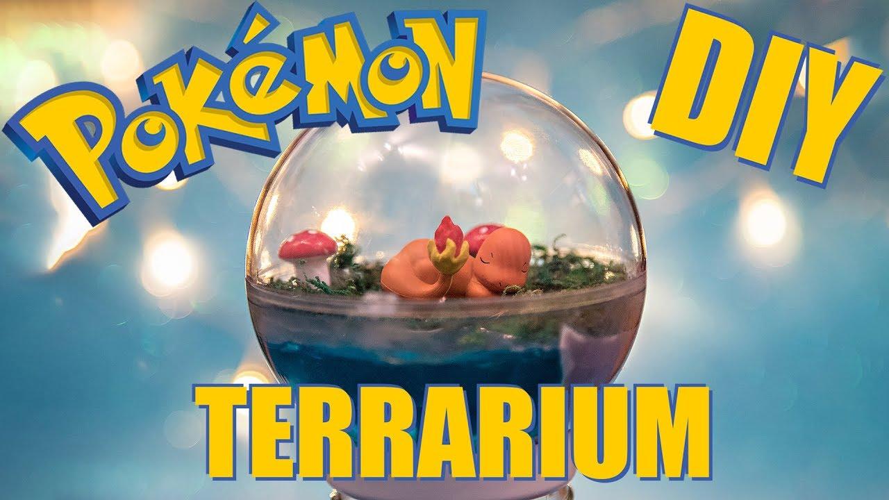 Pokemon Terrarium Diy Tutorial Creiamo Insieme Un Terrarium
