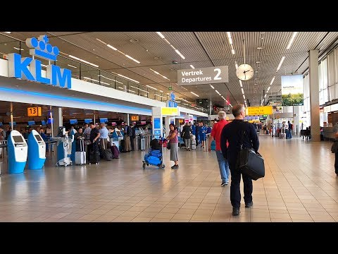 Schiphol Amsterdam Airport Walking Tour (Public Area)