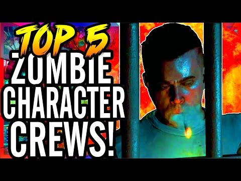 Top 5 Character Crews in Call of Duty...