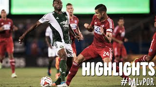 HIGHLIGHTS: FC Dallas vs. Portland Timbers | October 25, 2014