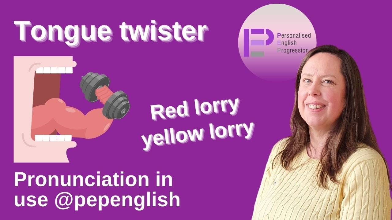 Tongue twister: pronunciation exercise